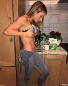 apply to model for nike repost from paigehathaway – what daily exercises for a flat stomach