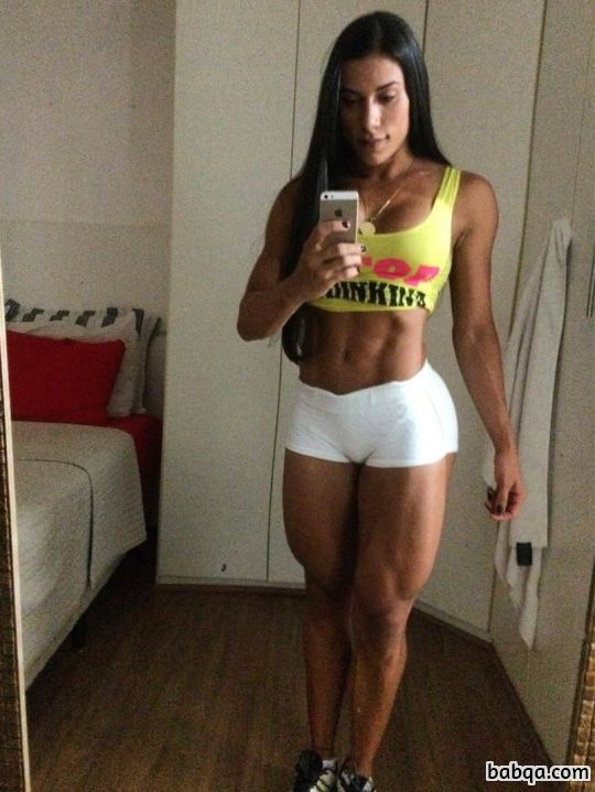 very sexy images of girls repost from awesomefitfemales – hot girl in tank tops