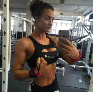 fit girl tumbler repost from womenfitnessmodels – hot and sexy anime girl