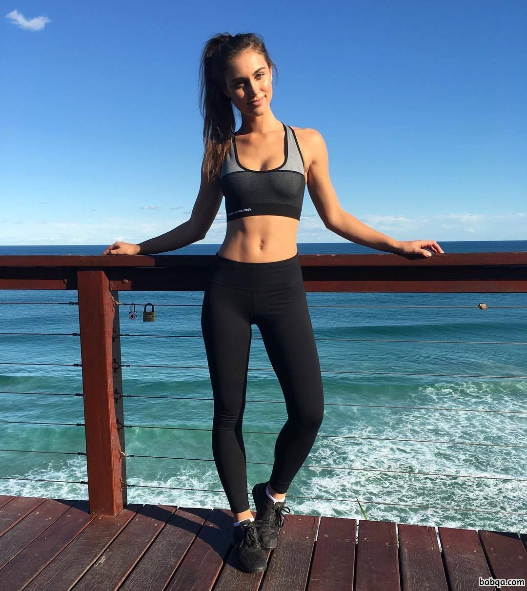 sexy bar girl repost from witnessfitness – fitness model workouts