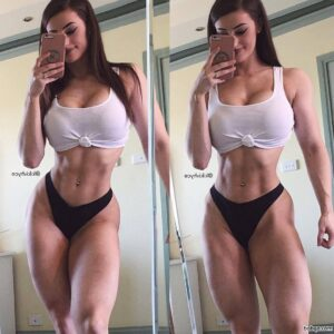 sec hot girls repost from womenfitnessmodels – perfect abs tumblr